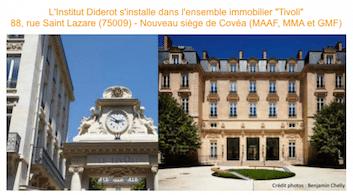 L'institut Diderot s'installe dans l'ensemble immobilier «Tivoli»